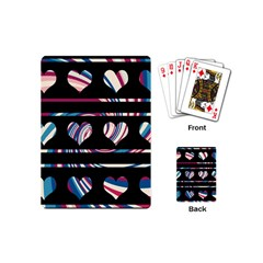 Colorful Harts Pattern Playing Cards (mini)
