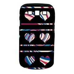 Colorful Harts Pattern Samsung Galaxy S Iii Classic Hardshell Case (pc+silicone) by Valentinaart