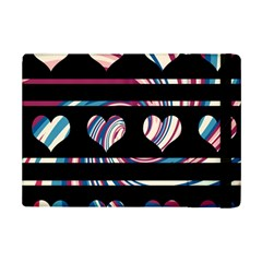 Colorful Harts Pattern Ipad Mini 2 Flip Cases by Valentinaart