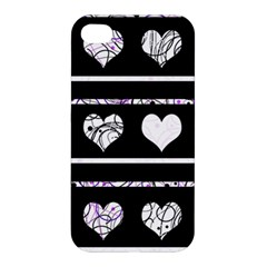 Elegant Harts Pattern Apple Iphone 4/4s Premium Hardshell Case