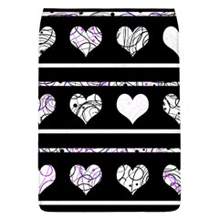 Elegant Harts Pattern Flap Covers (l)  by Valentinaart