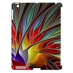 Fractal Bird Of Paradise Apple Ipad 3/4 Hardshell Case (compatible With Smart Cover) by WolfepawFractals