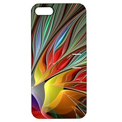 Fractal Bird Of Paradise Apple Iphone 5 Hardshell Case With Stand by WolfepawFractals