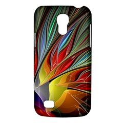 Fractal Bird Of Paradise Samsung Galaxy S4 Mini (gt I9190) Hardshell Case  by WolfepawFractals