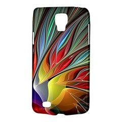 Fractal Bird Of Paradise Samsung Galaxy S4 Active (i9295) Hardshell Case by WolfepawFractals
