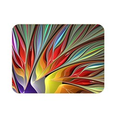 Fractal Bird Of Paradise Double Sided Flano Blanket (mini) by WolfepawFractals