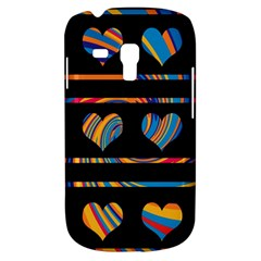 Colorful Harts Pattern Galaxy S3 Mini