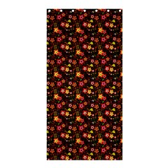 Exotic Colorful Flower Pattern Shower Curtain 36  X 72  (stall)  by Brittlevirginclothing