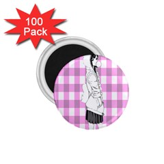 Cute Anime Girl 1 75  Magnets (100 Pack)  by Brittlevirginclothing