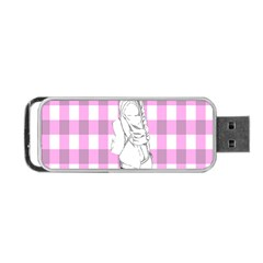 Cute Anime Girl Portable Usb Flash (two Sides) by Brittlevirginclothing