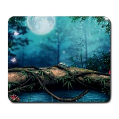 Fantasy Nature  Large Mousepads by Brittlevirginclothing