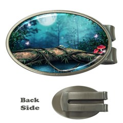 Fantasy Nature  Money Clips (oval)  by Brittlevirginclothing