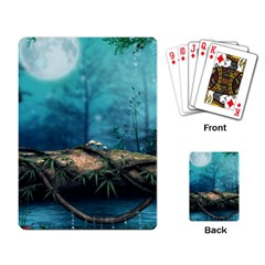 Fantasy Nature  Playing Card by Brittlevirginclothing