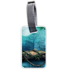 Fantasy Nature  Luggage Tags (one Side)  by Brittlevirginclothing