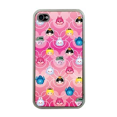 Alice In Wonderland Apple Iphone 4 Case (clear) by reddyedesign
