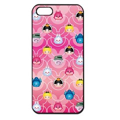 Alice In Wonderland Apple Iphone 5 Seamless Case (black) by reddyedesign