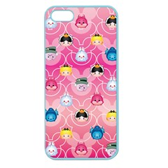 Alice In Wonderland Apple Seamless Iphone 5 Case (color) by reddyedesign