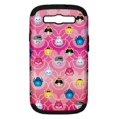 Alice In Wonderland Samsung Galaxy S Iii Hardshell Case (pc+silicone) by reddyedesign