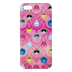 Alice In Wonderland Apple Iphone 5 Premium Hardshell Case by reddyedesign