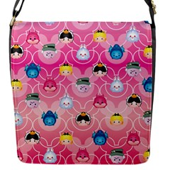 Alice In Wonderland Flap Messenger Bag (s) by reddyedesign