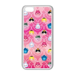 Alice In Wonderland Apple Iphone 5c Seamless Case (white) by reddyedesign