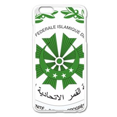 National Seal Of The Comoros Apple Iphone 6 Plus/6s Plus Enamel White Case by abbeyz71