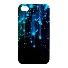 Abstract Stars Falling  Apple Iphone 4/4s Premium Hardshell Case by Brittlevirginclothing