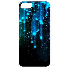 Abstract Stars Falling  Apple Iphone 5 Classic Hardshell Case by Brittlevirginclothing