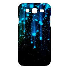 Abstract Stars Falling  Samsung Galaxy Mega 5 8 I9152 Hardshell Case  by Brittlevirginclothing