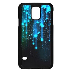 Abstract Stars Falling  Samsung Galaxy S5 Case (black) by Brittlevirginclothing