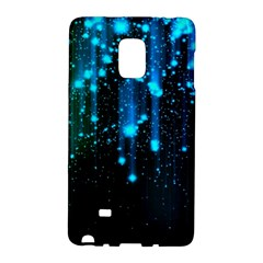 Abstract Stars Falling  Galaxy Note Edge by Brittlevirginclothing