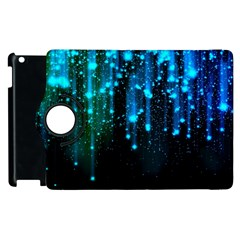 Abstract Stars Falling  Apple Ipad 2 Flip 360 Case by Brittlevirginclothing