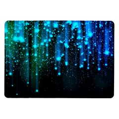 Abstract Stars Falling  Samsung Galaxy Tab 10 1  P7500 Flip Case by Brittlevirginclothing