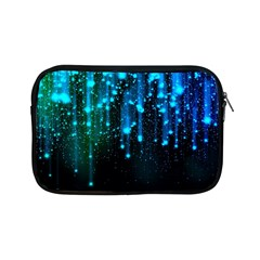 Abstract Stars Falling  Apple Ipad Mini Zipper Cases by Brittlevirginclothing