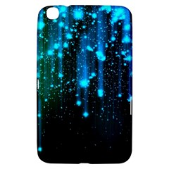 Abstract Stars Falling  Samsung Galaxy Tab 3 (8 ) T3100 Hardshell Case  by Brittlevirginclothing