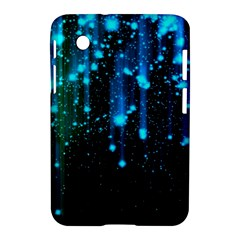 Abstract Stars Falling  Samsung Galaxy Tab 2 (7 ) P3100 Hardshell Case  by Brittlevirginclothing