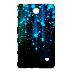 Abstract Stars Falling  Samsung Galaxy Tab 4 (8 ) Hardshell Case  by Brittlevirginclothing