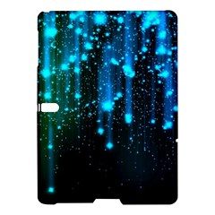 Abstract Stars Falling  Samsung Galaxy Tab S (10 5 ) Hardshell Case  by Brittlevirginclothing