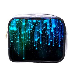 Abstract Stars Falling  Mini Toiletries Bags by Brittlevirginclothing