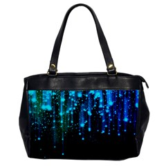 Abstract Stars Falling  Office Handbags by Brittlevirginclothing