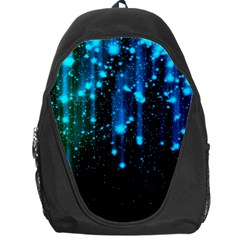 Abstract Stars Falling  Backpack Bag by Brittlevirginclothing