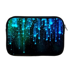 Abstract Stars Falling  Apple Macbook Pro 17  Zipper Case by Brittlevirginclothing