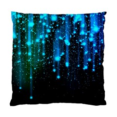 Abstract Stars Falling Standard Cushion Case (two Sides) by Brittlevirginclothing