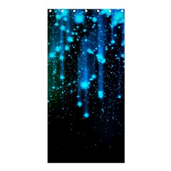 Abstract Stars Falling Shower Curtain 36  X 72  (stall)  by Brittlevirginclothing