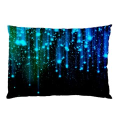 Abstract Stars Falling Pillow Case (two Sides) by Brittlevirginclothing