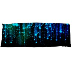 Abstract Stars Falling Body Pillow Case (dakimakura) by Brittlevirginclothing