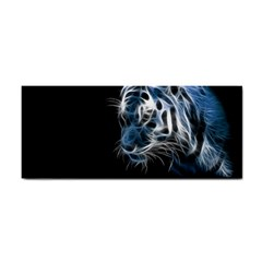 Ghost Tiger  Cosmetic Storage Cases by Brittlevirginclothing
