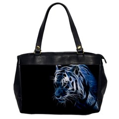 Ghost Tiger  Office Handbags by Brittlevirginclothing