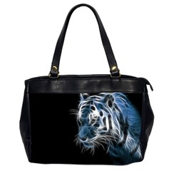 Ghost Tiger  Office Handbags (2 Sides)  by Brittlevirginclothing