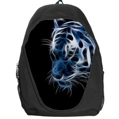Ghost Tiger  Backpack Bag by Brittlevirginclothing